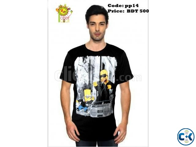 Trendy T-shirt for men | ClickBD large image 0