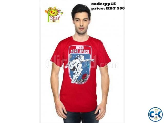 Trendy T-shirt for men | ClickBD large image 1