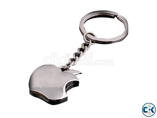 Metal Apple Key Chain | ClickBD large image 0