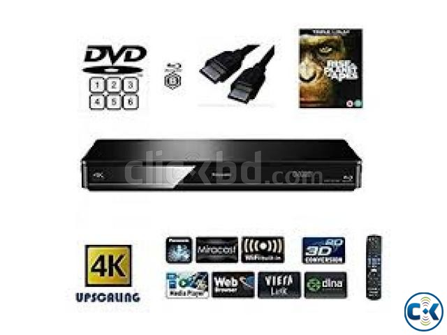 NEW IMPORTED Panasonic DMP-BDT380 specs DVD PLAYER | ClickBD large image 0