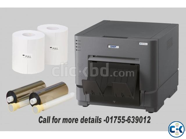 DNP DS RX1 Digital Photo Printer 1 Roll Paper with Install | ClickBD large image 0
