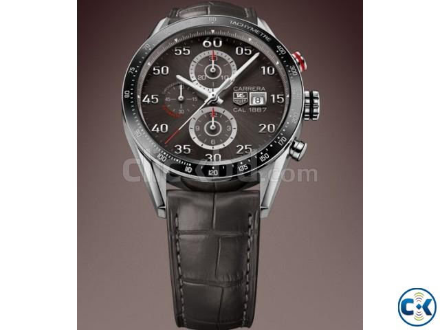 Carrera Automatic Chronograph Men s Watch | ClickBD large image 0