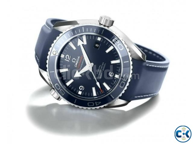 PLANET OCEAN 600 M OMEGA CO-AXIAL GMT 43.5 MM | ClickBD large image 0