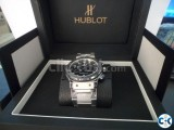 Hublot Sliver watch Limited Edition