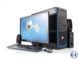 PC Core i5 8GB 1000GB 1GB Grap 19 LED