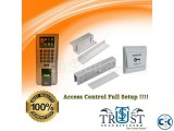 Access Control Time Attendance Full Setup