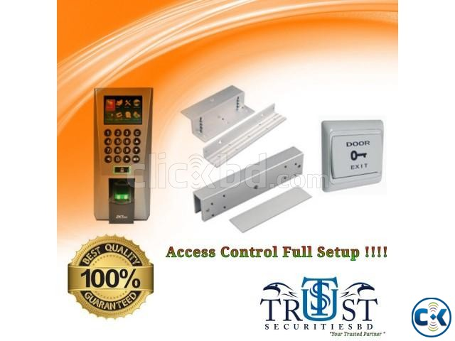 Access Control Time Attendance Full Setup | ClickBD large image 0