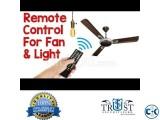 Remote Control Switch Fan Light