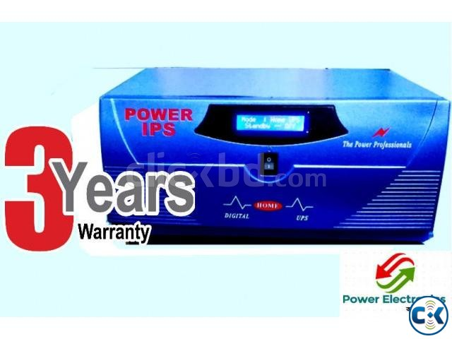 Power IPS -UPS 600VA 3 Fan 4 light | ClickBD large image 0