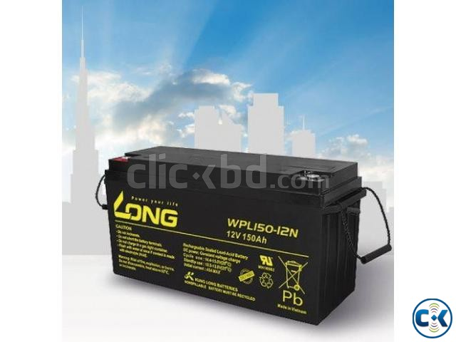 40 Ah Long SMF Battery | ClickBD large image 0