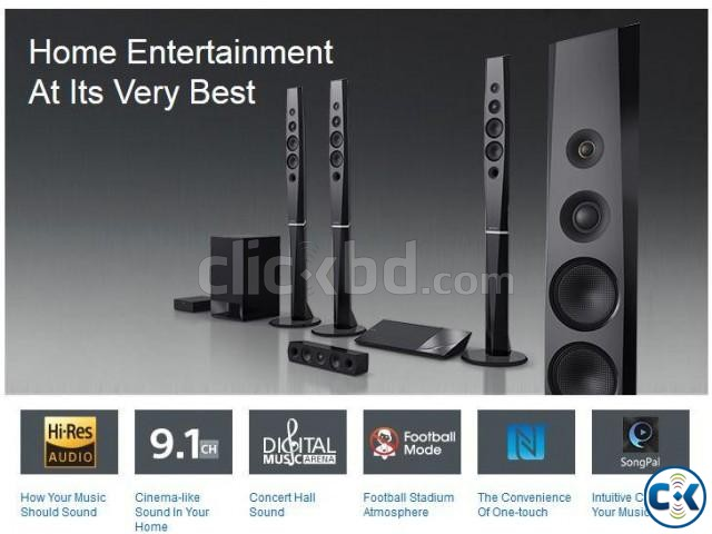 Sony BDV-N9200W 3D Blu-ray Disc Premium Home Cinema System | ClickBD large image 1