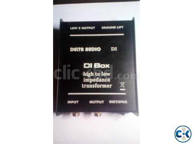 New Delta Audio DI Box | ClickBD large image 2