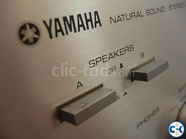 YAMAHA -A460 Stereo Amplifier Yamaha Speakers Monitors | ClickBD large image 2