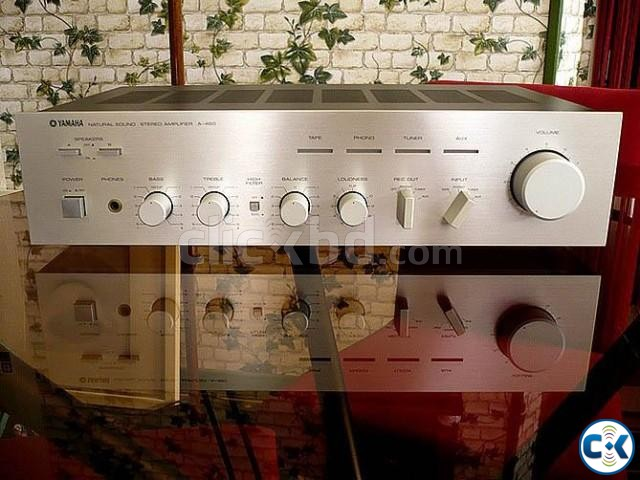 YAMAHA -A460 Stereo Amplifier Yamaha Speakers Monitors | ClickBD large image 3