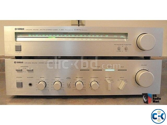 YAMAHA -A460 Stereo Amplifier Yamaha Speakers Monitors | ClickBD large image 4