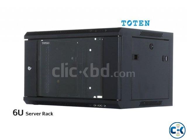 6U Server Rack Cabinet Enclosure | ClickBD large image 0