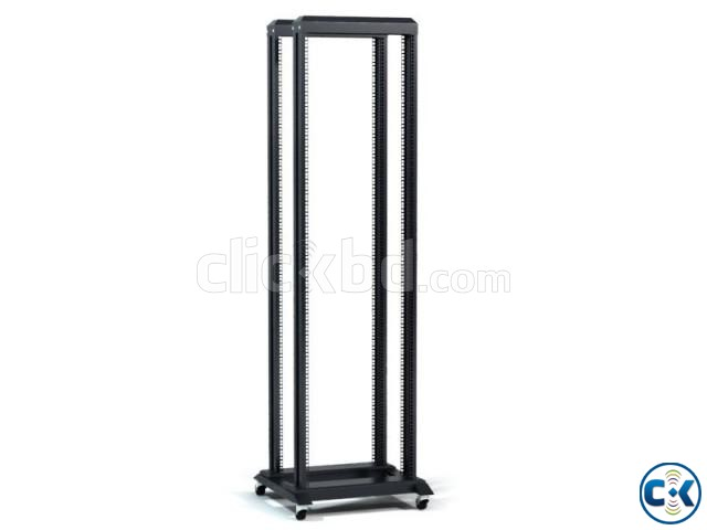 42U Adjustable 4 Leg Open Server Rack | ClickBD large image 0