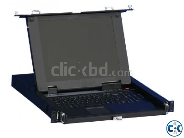 16 Ports KVM Switches Console With 17 LCD Monitor | ClickBD large image 0