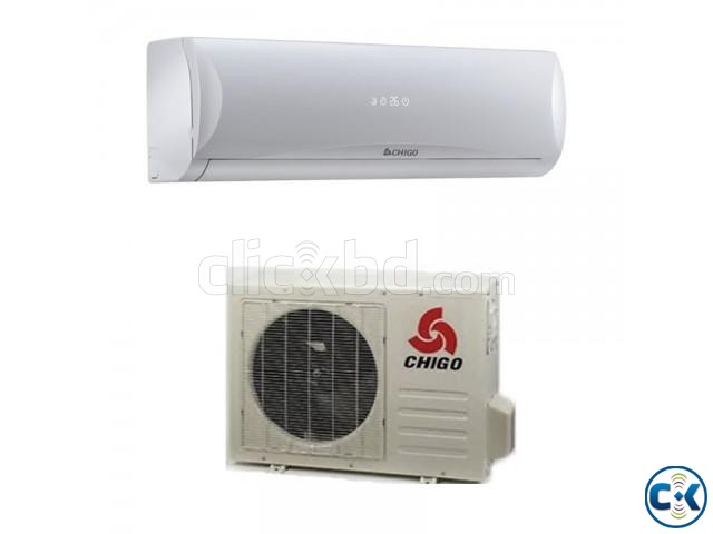 Chigo 1.5 Ton 1900W 18000BTU Split Air Conditioner - White | ClickBD large image 0