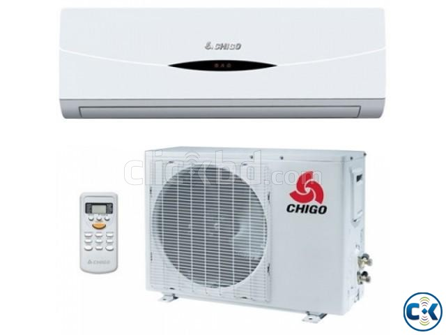 Chigo 1.5 Ton 1900W 18000BTU Split Air Conditioner - White | ClickBD large image 1