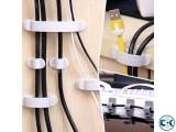 10pcs Cable Cord Wire Line Organizer