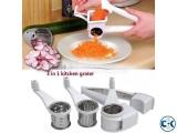3 in 1 kitchen grater