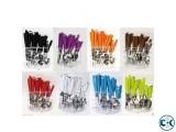 24 Pcs Stylish Cutlery Set Multi Colour -1pc