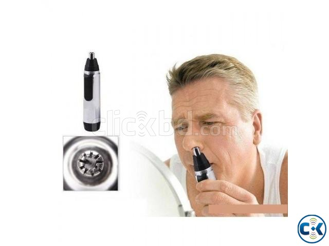 2 in 1 Nose And Ear Hair Trimmer | ClickBD large image 0