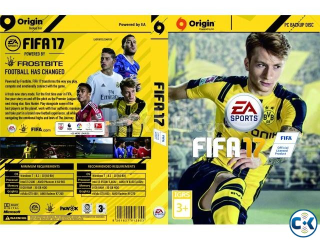 FIFA 17 AND GTA 5 PC ORIGINAL GAMES 01720020723.. 100 works | ClickBD large image 0