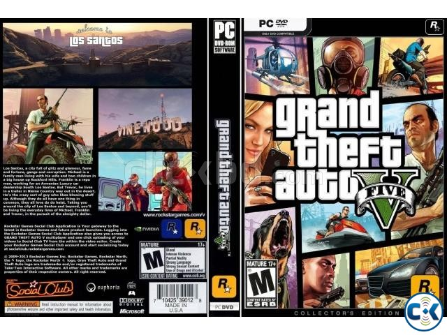 FIFA 17 AND GTA 5 PC ORIGINAL GAMES 01720020723.. 100 works | ClickBD large image 1