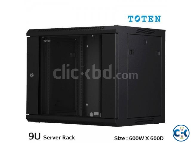 TOTEN 9U Server Rack Cabinet 600x600mm | ClickBD large image 0