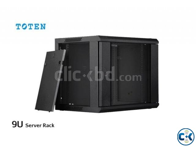 TOTEN 9U Server Rack Cabinet 600x600mm | ClickBD large image 1