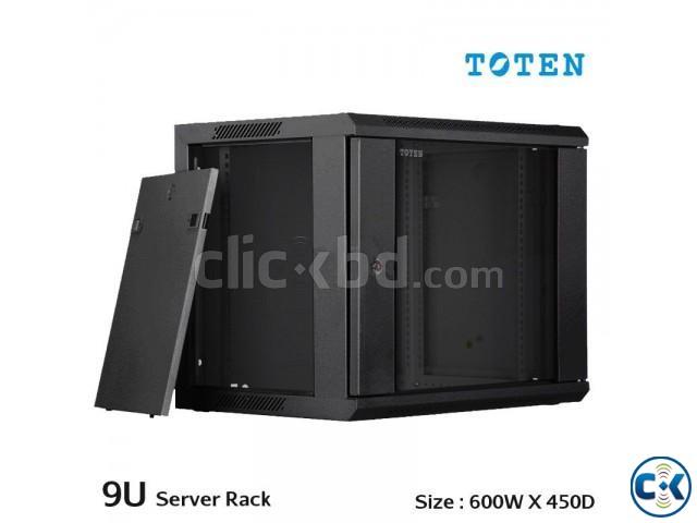 TOTEN Server Rack Cabinet 9U 600X450 mm in Bangladesh | ClickBD large image 0