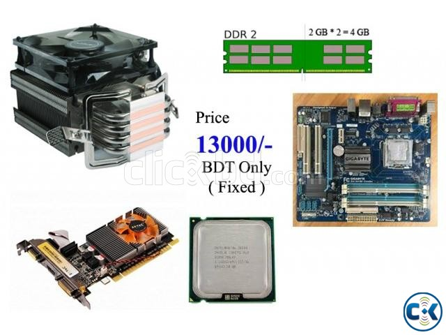 Gaming PC Parts Core 2 Duo | ClickBD