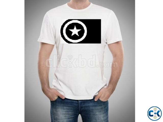 Captain America T Shirt | ClickBD large image 0