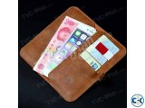 LW Wallet Leather Protective Cover Business Style only black