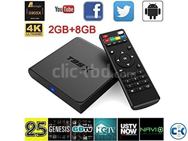 T95X 4K Android 6.0 Smart TV Box 2GB ram | ClickBD large image 0