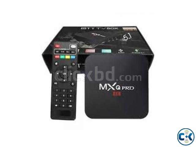 MXQ 4K OTT Smart Android TV Box 1GB RAM-8GB | ClickBD large image 0