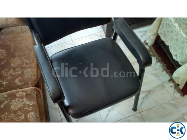 Office Furniture 2 tables and 3 chairs  | ClickBD large image 0