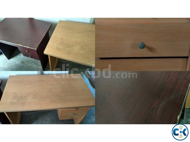 Office Furniture 2 tables and 3 chairs  | ClickBD large image 4