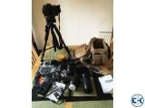 Nikon D7200 DSLR Camera and Len s.
