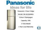 Panasonic Refrigerator 190 Liter NR-BJ226SNSG