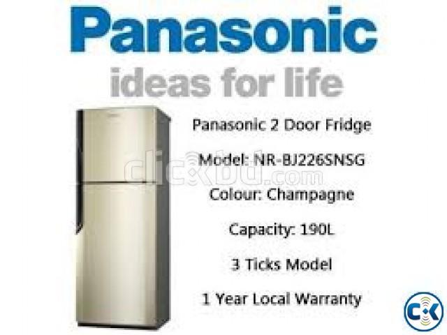 Panasonic Refrigerator 190 Liter NR-BJ226SNSG | ClickBD large image 0