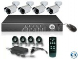 AHD CCTV CAMERA 4 PCS DVR 4 PORT