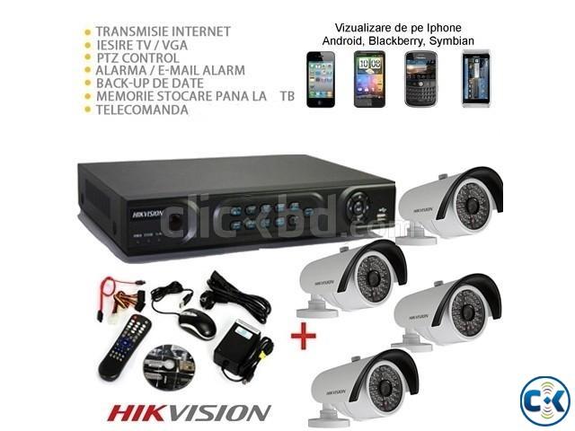 4 PCS. HIK VISION 700TV CCTV CAMERA | ClickBD large image 0