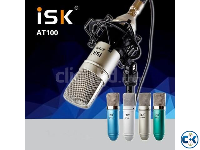 ISK AT100 Condenser Microphone | ClickBD large image 0