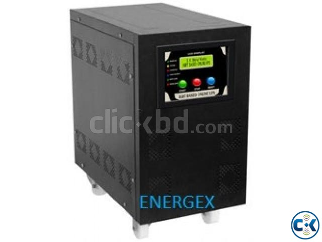 Energex Pure Sine Wave UPS IPS 3 KVA 5yrs WARRENTY With Bat | ClickBD large image 0