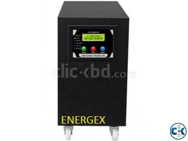 Energex Pure Sine Wave UPS IPS 5 KVA 5yrs WARRENTY With Bat | ClickBD large image 0