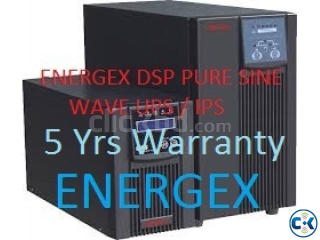 Energex Pure Sine Wave UPS IPS 5 KVA 5yrs WARRENTY With Bat | ClickBD large image 1