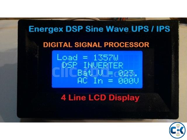 Energex Pure Sine Wave UPS IPS 5 KVA 5yrs WARRENTY With Bat | ClickBD large image 3